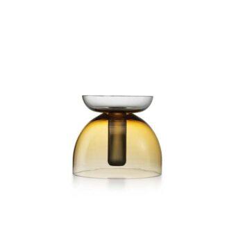 Amber / Steel grey H 22 cm / ⌀ 25 cm