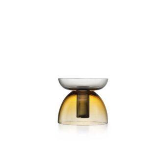 Amber / Steel grey H 18 cm / ⌀ 20 cm