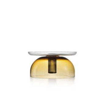 Amber / Steel grey H 14 cm / ⌀ 30 cm