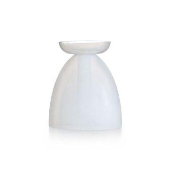 Opal White H 31 cm / ⌀ 28 cm