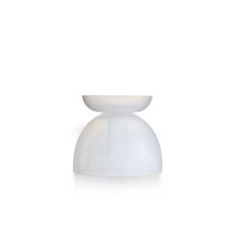 Opal White H 22 cm / ⌀ 25 cm