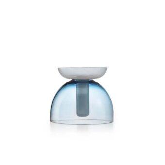 Savoy Blue / Opal White H 22 cm / ⌀ 25 cm