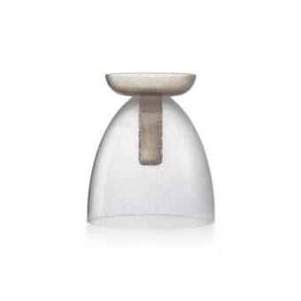 Pulegoso Crystal / Kaiser Pulegoso grey H 31 cm / ⌀ 28 cm