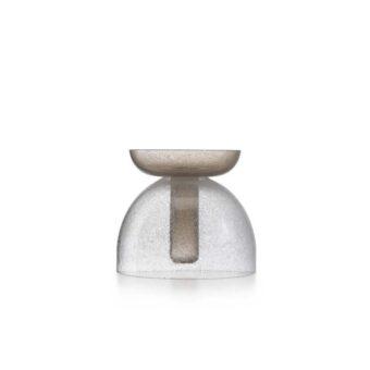 Pulegoso Crystal / Kaiser Pulegoso grey H 22 cm / ⌀ 25 cm
