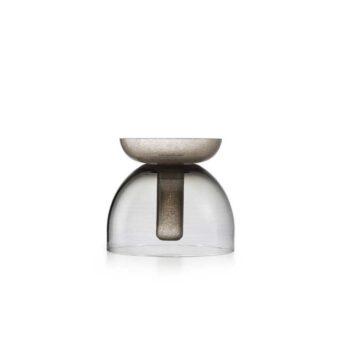 Steel grey / Kaiser Pulegoso grey H 22 cm / ⌀ 25 cm