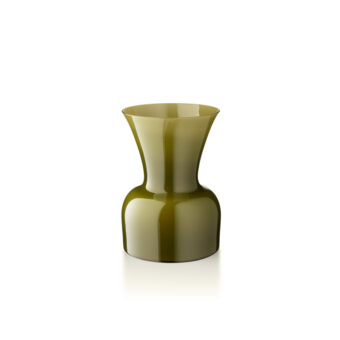 Olive green H 22 cm / ⌀ 15 cm