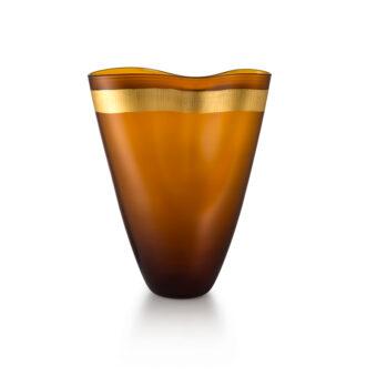 Satin Orange H 38 cm / 30 cm