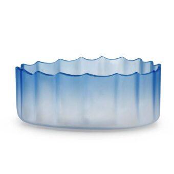 Savoy Blue H 15 cm / ⌀ 38 cm