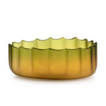 Green / Amber H 15 cm / ⌀ 38 cm