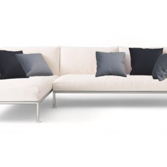 NEST COMPOSITION LINEAR AND CHAISE LONGUE