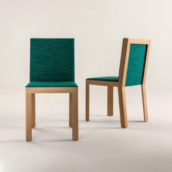 CHAIR IN WOODEN STRUCTURE